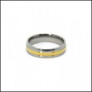 Alianças em Aço Inox 316L - MOD 008