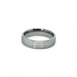 Alianças em Aço Inox 316L - MOD 005